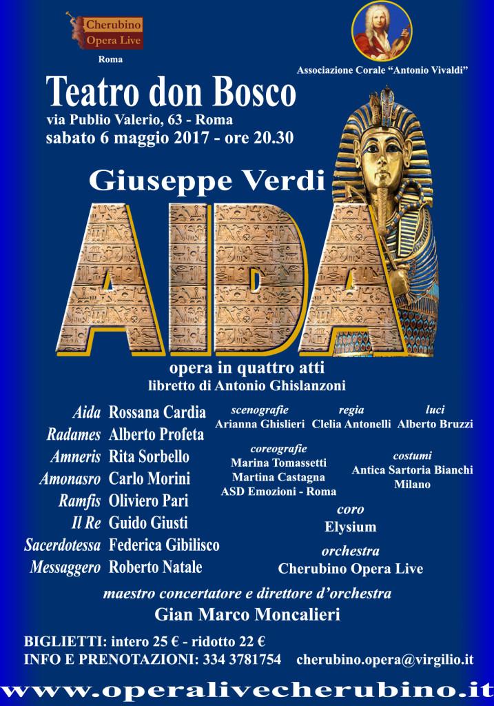 Manifesto Aida Roma