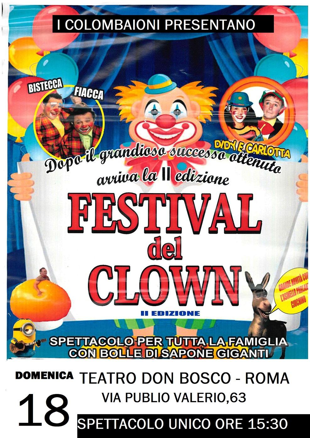 FESTIVAL DEL CLOWN